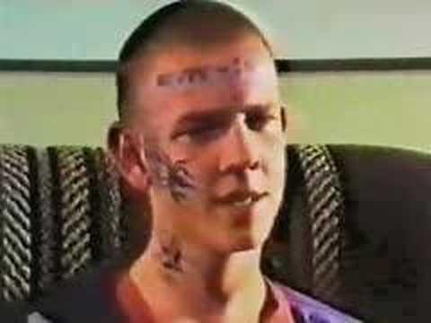Skinhead (80´s) interview and tattoo www.oxbloodoi.com