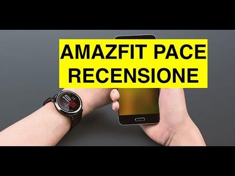 Recensione Amazfit Pace versione Inglese, Smartwatch Xiaomi con GPS