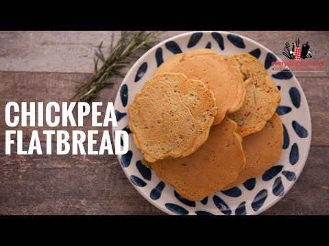 Tefal Chickpea Flatbread | Everyday Gourmet S6 E16