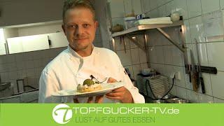 Beelitzer Kaninchenrücken | Steinpilzrisotto | gebratener Butter noir (Blutwurst)