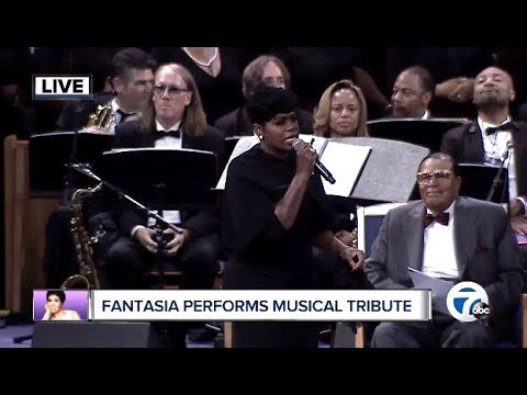Video Fantasia Performs Musical Tribute (Aretha Franklin Memorial) download in MP3, 3GP, MP4, WEBM, AVI, FLV January 2017
