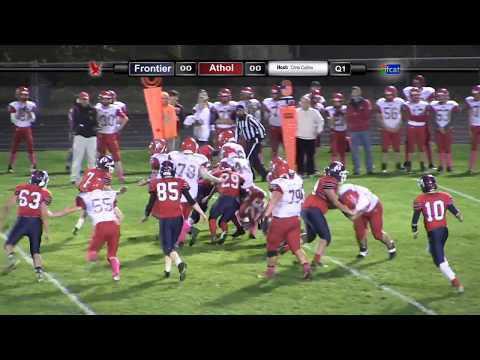 Frontier Regional School Football Vs Athol 10/27/17