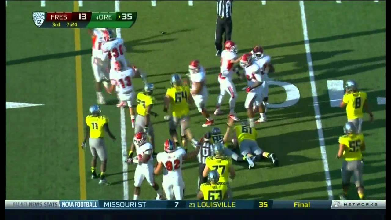 Phillip Thomas vs Oregon (2012)