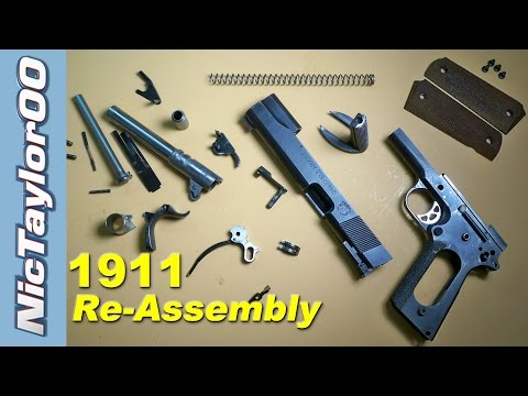 1911 Assembly (How to put it back together)