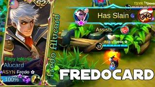 Video Never mess with Alucard when fredo uses Alucard | Fredo Alucard Gameplay MP3, 3GP, MP4, WEBM, AVI, FLV September 2018