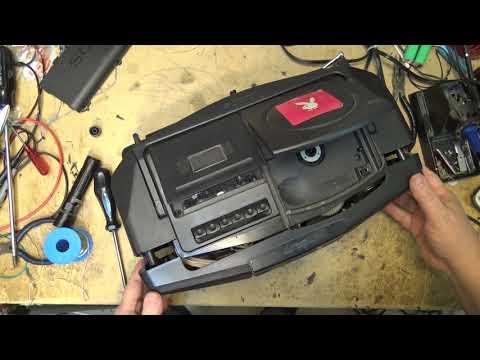 Sony CFD V10 Portable CD Radio Recorder No power