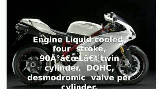 7. Ducati 1198R Corse Special Edition -  Top Speed Specs superbike Engine Info Features [tarohan]