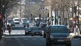 Paris Imposes Partial One-Day Car Ban To Combat Smog Danger