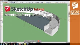 Video SketchUp Tutorial - Membuat Ramp Lengkung Tanpa Plugin MP3, 3GP, MP4, WEBM, AVI, FLV Desember 2017