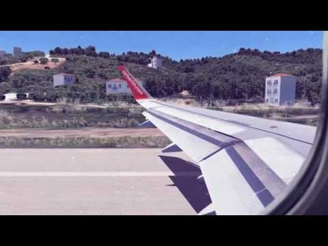 [FSX] airberlin A320 Landing at Skiathos Airport