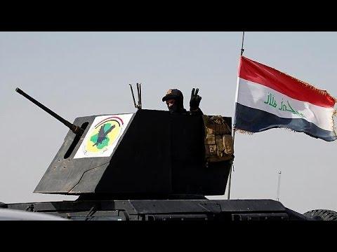 Οι ιρακινές δυνάμεις εισήλθαν στη Φαλούτζα