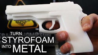How To Turn Styrofoam, Into Solid Aluminum by The King of Random