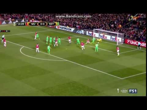 Zlatan Ibrahimovic goal  Manchester United vs Saint Etienne 1 0 Europa League 2017