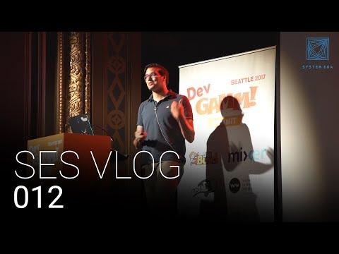 Becoming American, Menu Bug, DevGAMM & All Hands: SES Vlog 012