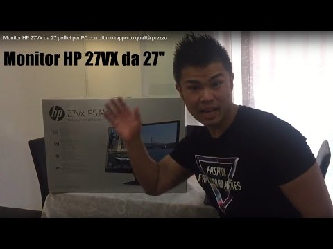 Monitor HP 27VX da 27 pollici per PC con ottimo rapporto qualità prezzo