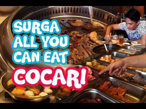 SURGA ALL YOU CAN EAT COCARI SURABAYA