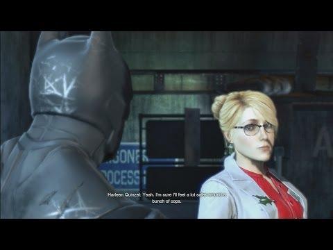 Batman Arkham Origins - Batman Meets Harley Quinn (Harley Quinzel)