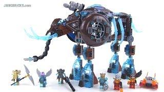 Video LEGO Chima 70145 Maula's Ice Mammoth Stomper review! Summer 2014 MP3, 3GP, MP4, WEBM, AVI, FLV Agustus 2018