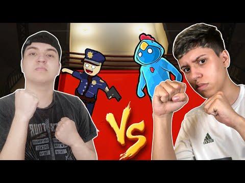 BETO VS ROBIN HOOD: BRIGAMOS FEIO NO GANG BEASTS!!