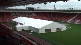 Time Lapse Construction of structure at Southampton Football Club 2012