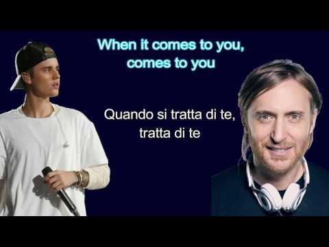 , title : '(Traduzione) David Guetta ft Justin Bieber - 2u Lyrics (cover di katia)'