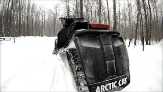 4. Arctic Cat 2013 XF1100 Turbo Limited Black