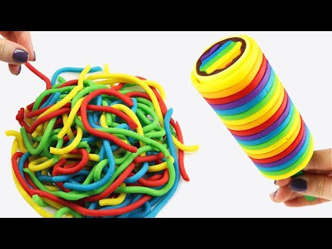 Play Doh Kinetic Sand Learn Colors And Numbers Toys DIY Creative Education Video For Kids