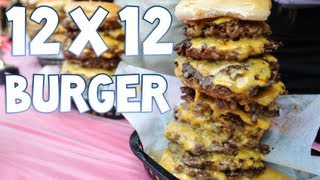 Nonton Eating a 12x12 Cheese Burger in 2:15 | Furious Pete Film Subtitle Indonesia Streaming Movie Download