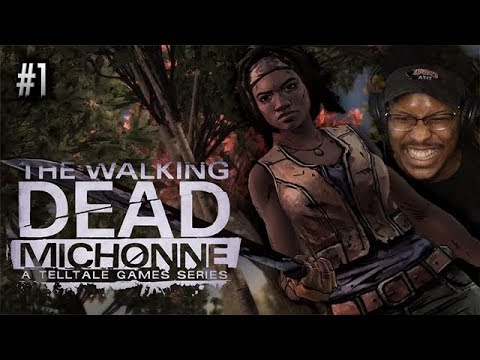 THIS ABOUT TO BE A LIT MINI-SERIES!!   The Walking Dead: Michonne   #1