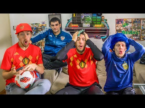 Francia 1 Belgica 0   2018 Mundial Semifinal   Reacciones de Amigos