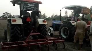 Swaraj 855 Vs New Holland 3630 | Tractor Fight | Tractor Mukabla