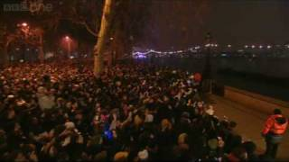 London Fireworks on New Year's Day 2009 - New Year Live - BBC One