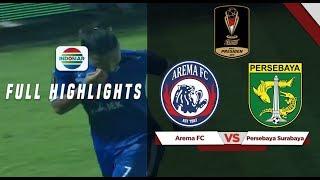 Arema FC (2) vs (0) Persebaya Surabaya - Full Highlights | Final Piala Presiden 2019 Leg 2