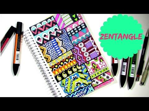 Draw zen pattern lines