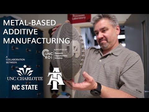 UNC ROI Metal-Based Additive Manufacturing