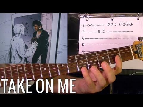 TAKE ON ME – A-HA – Guitar Lesson