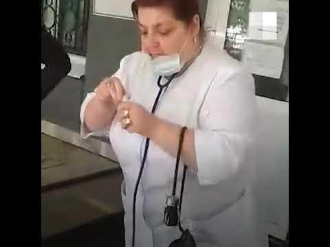Появилось видео с места гибели дедушки у поликлиники в Самаре