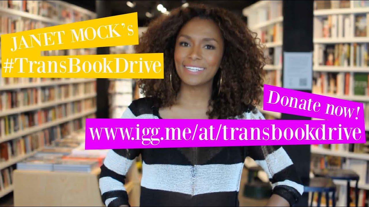 Janet Mock\'s #TransBookDrive