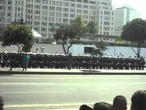 Desfile da Escola Naval no sete de setembro