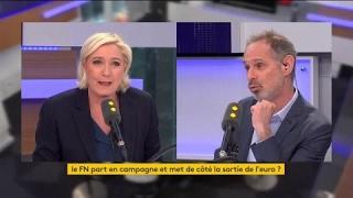 """Video Marine Le Pen : """"la sortie ou non de l'euro, ce n'est pas un sujet de législatives"""" MP3, 3GP, MP4, WEBM, AVI, FLV Mei 2017"""