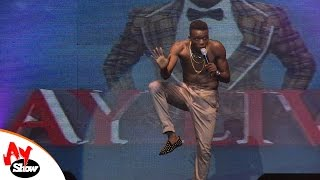 Akpororo Goes Naked On Stage