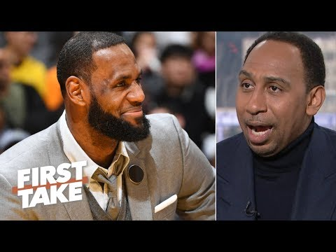 LeBron takes 'the keys to the throne' away from NBA general managers - Stephen A.   First Take