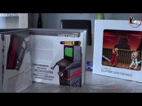 Unboxing La Bible Super Nintendo collector ( Pix'n love )