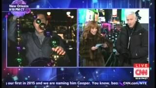 New Year's Eve Live 2015 Anderson Cooper Kathy Griffin Times Square New York (6/17)
