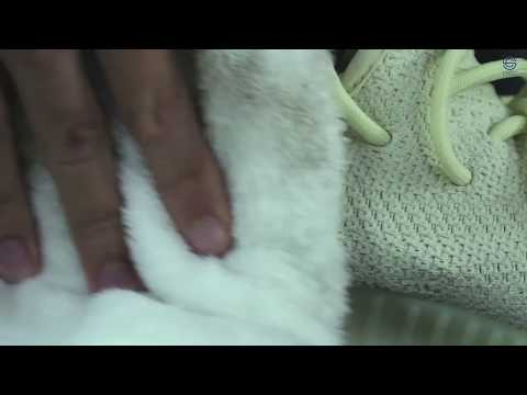 Vệ sinh giày Adidas YZY 350 Butter dính bùn đất???