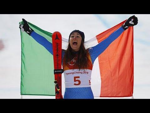 Abfahrt der Damen: Sofia Goggia holt Gold für Itali ...