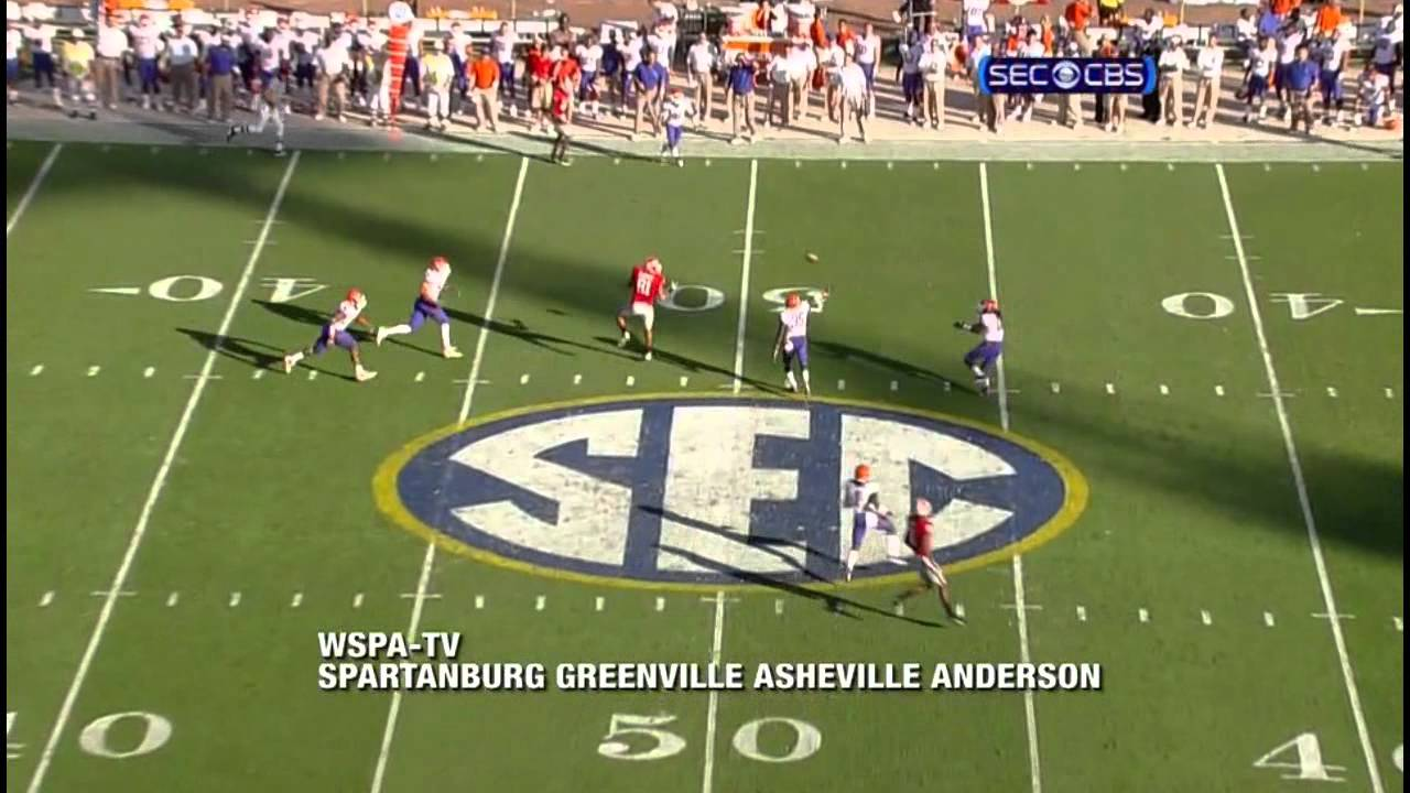 Will Hill vs Georgia (2010) vs Georgia (2010)
