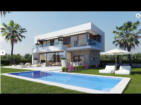 Luxury villas in Sierra Cortina with sea views of the highest quality construction!