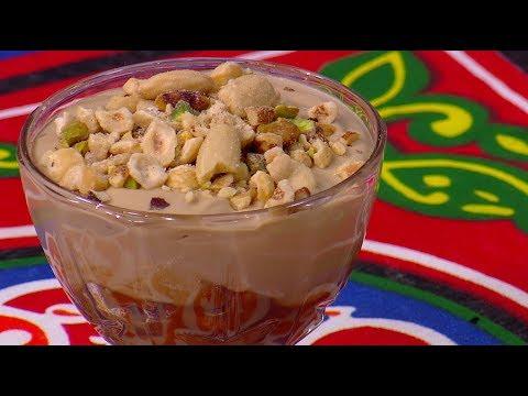العرب اليوم - شاهد: طريقة إعداد أكواب البسكويت بالقهوة والكراميل