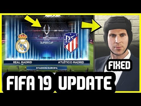 FIFA 19 NEW UPDATE IS OUT NOW - How To Download It On PS4 & XBOX One